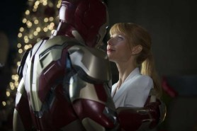 Robert Downey Jr. et Gwyneth Paltrow dans Iron Man 3 (2013)