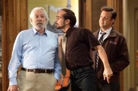 Donald Sutherland, Colin Farrell, et Jason Sudeikis dans Comment tuer son boss? (2011)