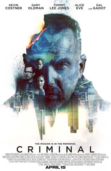 Criminal: Un espion dans la tête (2016)