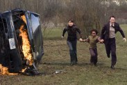Jennifer Connelly, Keanu Reeves, et Jaden Smith dans Le jour où la Terre s'arrêta (2008)
