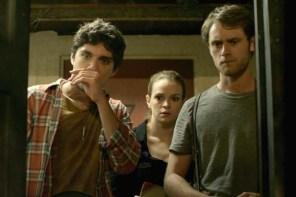 Matt O'Leary, Danielle Panabaker, et George Finn dans Time Lapse (2014)