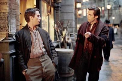 Christian Bale et Hugh Jackman dans Le Prestige (2006)