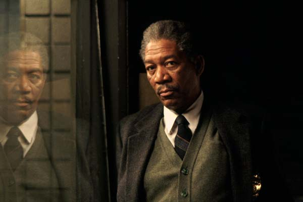 Morgan Freeman dans Seven (1995)