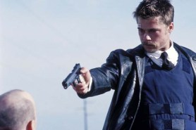 Brad Pitt et Kevin Spacey dans Seven (1995)