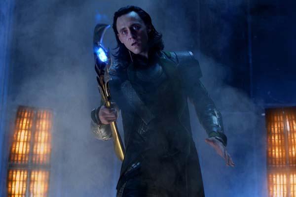Tom Hiddleston dans Avengers (2012)