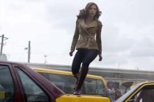 Scarlett Johansson dans Captain America: Civil War (2016)