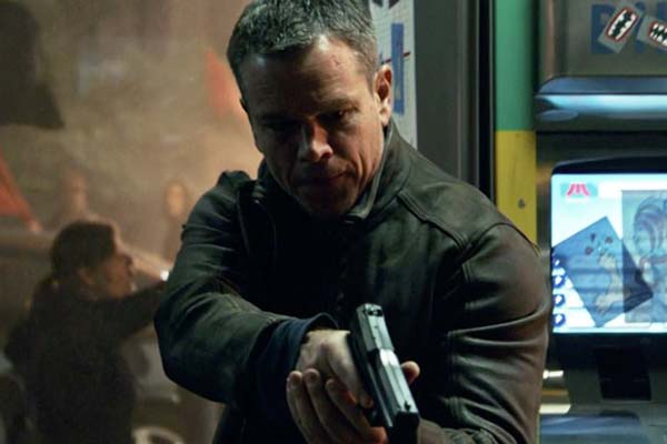 Matt Damon dans Jason Bourne (2016)