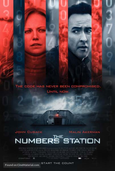 THE NUMBERS STATION (2013)★★★☆☆