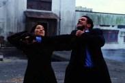 Antonio Banderas et Lucy Liu dans Ballistic (2002)
