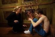 Virginia Madsen et Kyle Gallner dans Le dernier rite (2009)