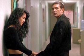 Antonio Banderas et Salma Hayek dans Desperado (1995)
