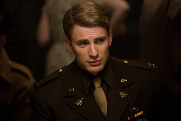 Chris Evans dans Captain America: First Avenger (2011)