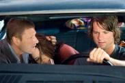 Sean Bean, Sophia Bush, et Zachary Knighton dans Hitcher (2007)