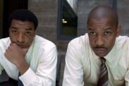 Denzel Washington et Chiwetel Ejiofor dans Inside Man - L'homme de l'intérieur (2006)