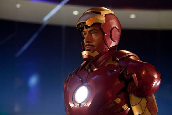 Robert Downey Jr. dans Iron Man 2 (2010)