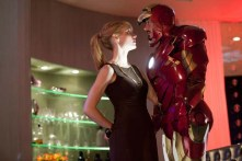 Robert Downey Jr. et Gwyneth Paltrow dans Iron Man 2 (2010)