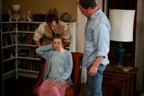 Ashley Bell et Patrick Fabian dans Le Dernier Exorcisme (2010)