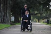 Nicolas Cage et Peter Stormare dans Rage (2014)