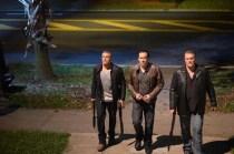 Max Ryan, Nicolas Cage et Michael McGrady dans Rage (2014)