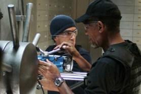 Antonio Banderas et Morgan Freeman dans The Code (2009)