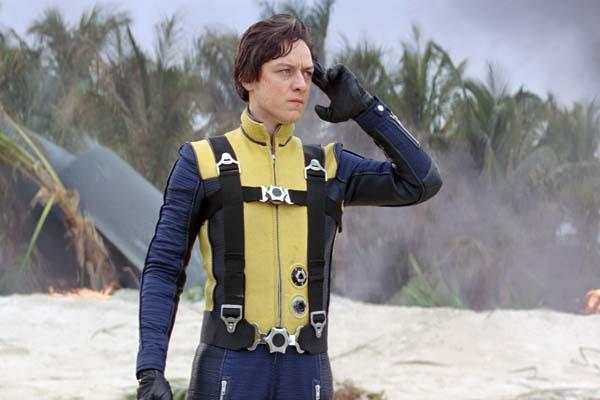 James McAvoy dans X-Men: Le commencement (2011)