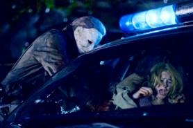 Scout Taylor-Compton et Tyler Mane dans Halloween (2007)