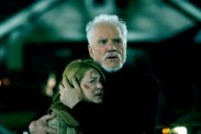 Malcolm McDowell et Scout Taylor-Compton dans Halloween (2007)