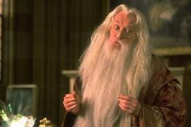 Richard Harris dans Harry Potter à l'école des sorciers (2001)