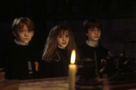 Rupert Grint, Daniel Radcliffe, et Emma Watson dans Harry Potter à l'école des sorciers (2001)