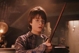 Daniel Radcliffe dans Harry Potter à l'école des sorciers (2001)
