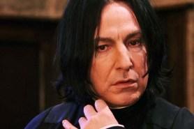 Alan Rickman dans Harry Potter à l'école des sorciers (2001)