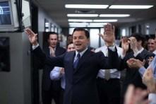 Leonardo DiCaprio dans Le loup de Wall Street (2013)