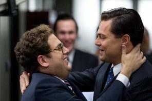 Leonardo DiCaprio et Jonah Hill dans Le loup de Wall Street (2013)