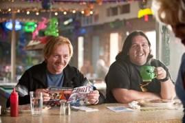 Nick Frost et Simon Pegg dans Paul (2011)