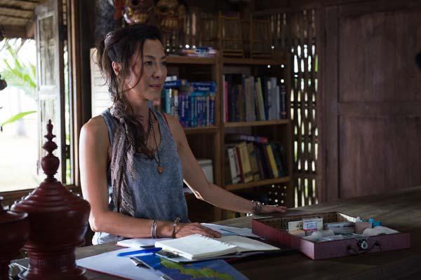 Michelle Yeoh dans Mechanic: Resurrection (2016)