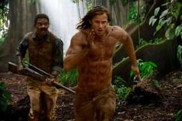 Samuel L. Jackson et Alexander Skarsgård dans Tarzan (2016)