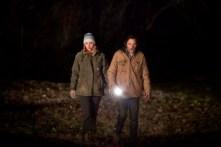 John Hawkes et Jennifer Lawrence dans Winter's Bone (2010)