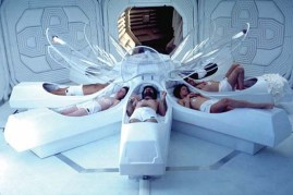 Sigourney Weaver, Ian Holm, Tom Skerritt, Veronica Cartwright, et Harry Dean Stanton dans Alien - Le 8ème passager (1979)