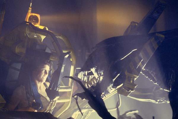 Sigourney Weaver dans Aliens - Le retour (1986)