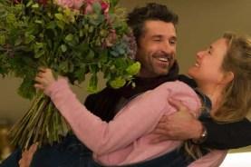 Renée Zellweger et Patrick Dempsey dans Bridget Jones Baby (2016)