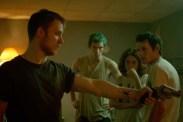 Alia Shawkat, Anton Yelchin, Imogen Poots, Joe Cole, et Callum Turner dans Green Room (2015)