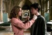 Daniel Radcliffe et Emma Watson dans Harry Potter et le prisonnier d'Azkaban (2004)