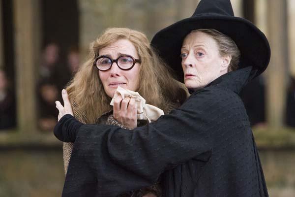 Emma Thompson et Maggie Smith dans Harry Potter et l'ordre du Phénix (2007)