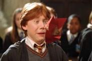 Rupert Grint dans Harry Potter et la chambre des secrets (2002)