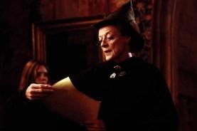 Maggie Smith dans Harry Potter et la chambre des secrets (2002)