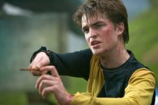 Robert Pattinson dans Harry Potter et la coupe de feu (2005)