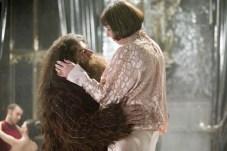 Robbie Coltrane et Frances de la Tour dans Harry Potter et la coupe de feu (2005)