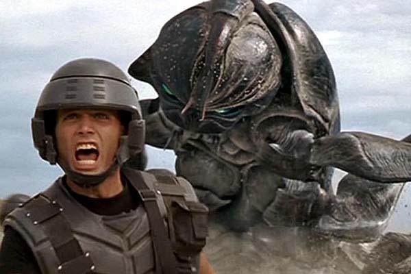 Casper Van Dien dans Starship Troopers (1997)