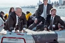 Tom Hanks, Aaron Eckhart, et Shane P. Allen dans Sully (2016)