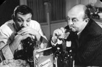 Lino Ventura et Bernard Blier dans Les Tontons Flingueurs (1963)